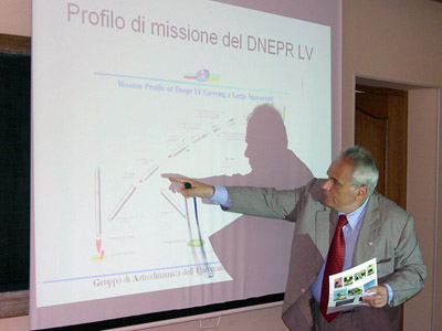 Meeting With Italian Scientists